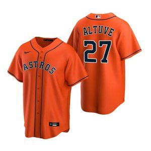Youth Houston Astros Jose Altuve Jersey orange